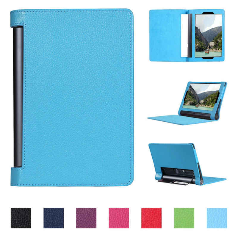 "Folio PU Leather Case Cover for Lenovo Yoga Tab 3 Pro YT3-X90F X90L X90X Tab3 Plus YT-X703F X703L 10.1"" Tablet Funda Capa"