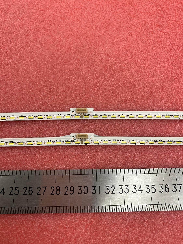 New Kit 2 PCS 84LED 598mm LED Backlight Strip For LED55M5600UC Hisense_55_HE550IUC_B52_84+84_4014M LT-1163576-B E227809 124G055