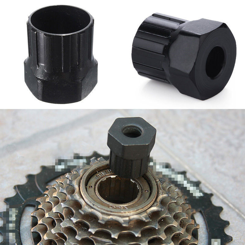 Portable 1PCS Bicycle Cassette Freewheel Lockring Remover Restore Repair Tool Carbon Steel Freewheel Remover Repair Tool #ED