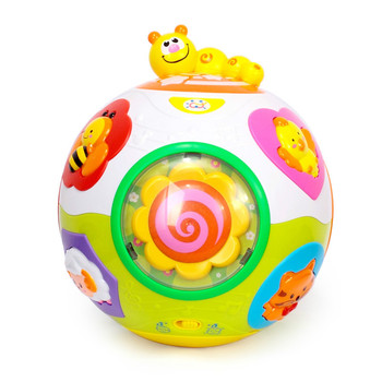 Baby Toys Toddler Crawl Toy with Music & Light Teach Shape/number/animal Kids Early Learning Educational Toy Sensory Toys