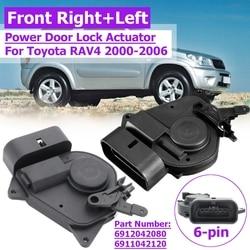 Z przodu samochodu lewego prawego na zewnątrz siłownik zamka drzwi dla Toyota RAV4 dla 6912042080 6911042120 69120-42080 69110-42120 746-603