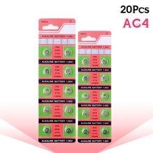 Venda barato YCDC AG4 20pcs 100% Original 377 SR626SW 626 SR626 V377 AG4 Assista Botão de Célula tipo Moeda Bateria FEITA NA CHINA