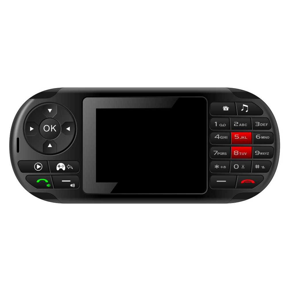 2.8 inch Handheld gamepad straight button game console for PSP 4 frequency 2G