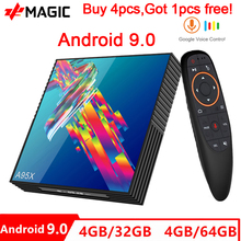 Prévente A95X F2R Android 9.0 TV Box Rockchip RK3318 2.4G/5G Wifi BT4.0 4 GB RAM 32 GB/64 GB Netflix Youtube Media Player TV BOX