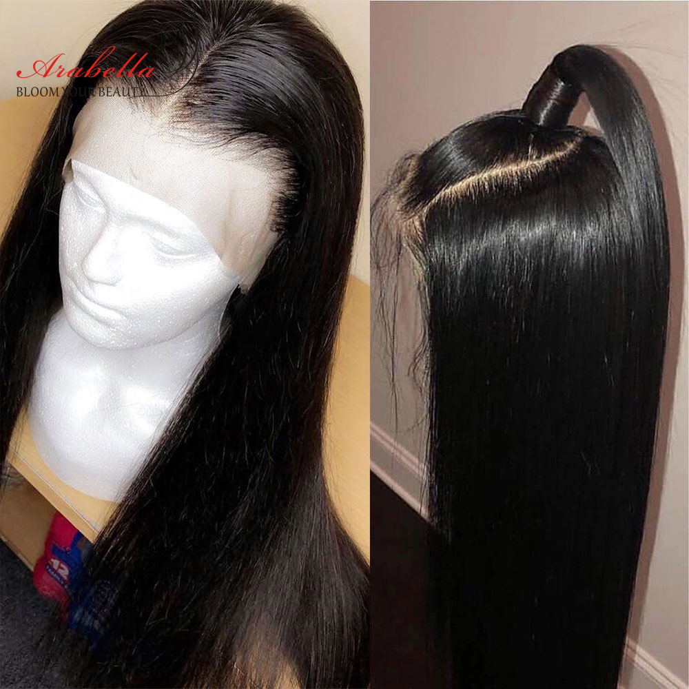 Arabella Lace Front Human Hair Wigs With Baby Hair For Black Women Remy Hair 150% 180% Density Pre Plucked 13*4 Lace Front Wig