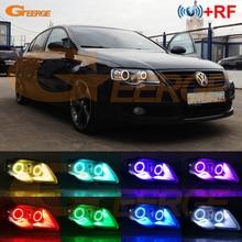 Kit yeux dange multicolore led RGB avec application Bluetooth RF, pour phare au xénon, pour Volkswagen VW Passat B6 Magotan, 2005 2010