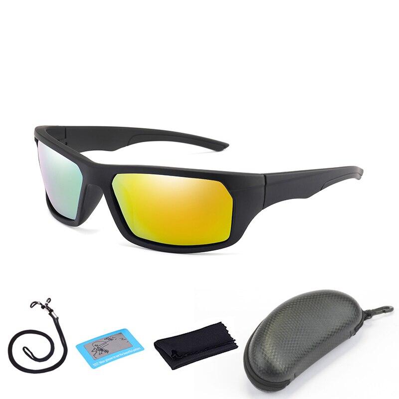 Мужские поляризационные солнцезащитные очки для походов спорта рыбалки очки женские походные вождения очки велосипедные очки с коробкой