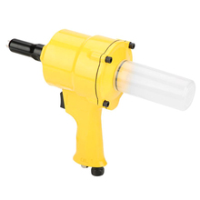 Professional Pneumatic Riveter Industrial Double Cylinder Type Air Nail Gun Riveting Tool