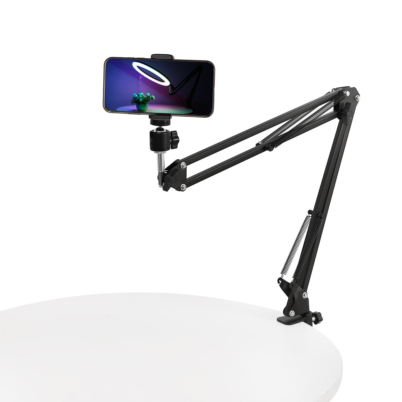 Adjustable arm stand