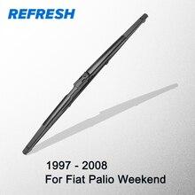Refresque a lâmina de limpador traseira para fiat palio weekend 1997  2008