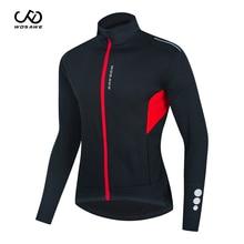 Clothing Cycling-Jacket Windbreaker Mountain-Bike Riding WOSAWE Waterproof Winter Warm