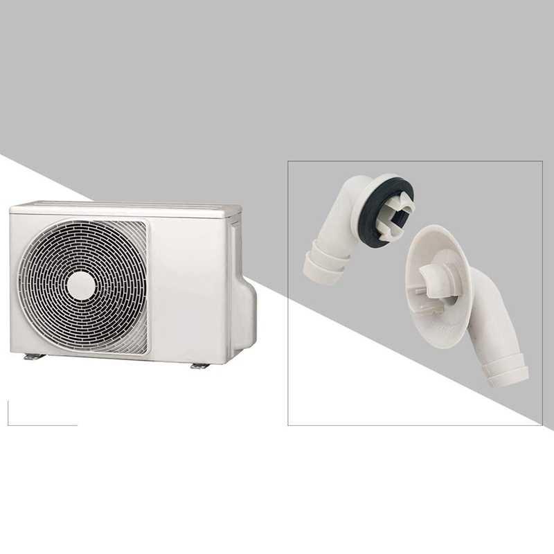 حار TOD-مكيف الهواء التيار المتناوب خرطوم الصرف موصل الكوع المناسب مع حلقة مطاطية لوحدات صغيرة سبليت ونافذة وحدة تيار متردد 3/5 بوصة (