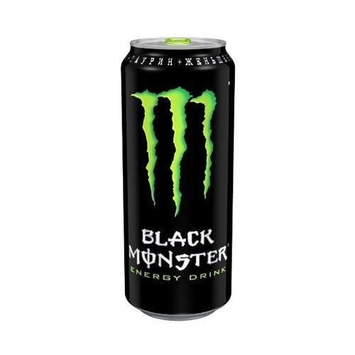 Энергетики The Coca Cola Company, Black Monster, 500 мл, Energy