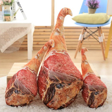Novelty plush food ham toy pillow funny gift soft filling 3D printing drumstick plush toy children boy girl gift 50-70 cm WJ278 1pcs ben 10 cosplay hat plush toy for boy children