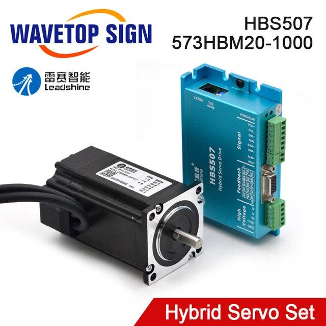 Leadshine HBS507 573HBM20 1000 Nema23 Servo ibrido trifase ad anello chiuso