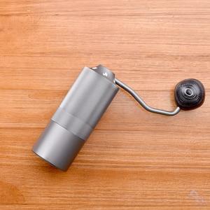 Image 5 - 50mm coffee grinder Aluminum Manual Coffee grinder Stainless steel Burr grinder Conical Coffe bean miller
