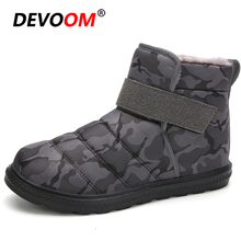 Winter Hiking Boots Men Women Waterproof Ankle Snow Boots Unisex Outdoor Trekking Shoes Hook&Loop Warm Fur Plush Tactical Boots hiking boots women waterproof mouantain shoes winter snow boots for women anti slip outdoor trekking sneakers ladies boots