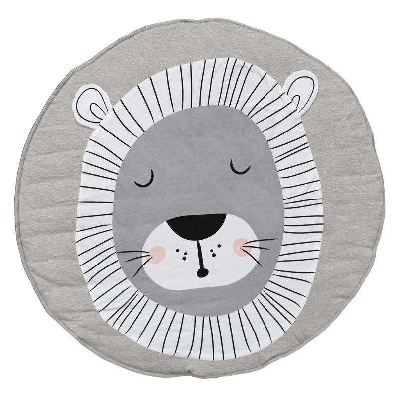 Baby Game Crawling Mat Newborn Cotton Blanket Round Floor Carpets For Kids Room Nursery Decor
