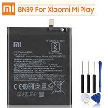Xiao Mi بطارية بديلة أصلية BN39 لشاومي Mi Play بطارية هاتف أصيلة 3000mAh