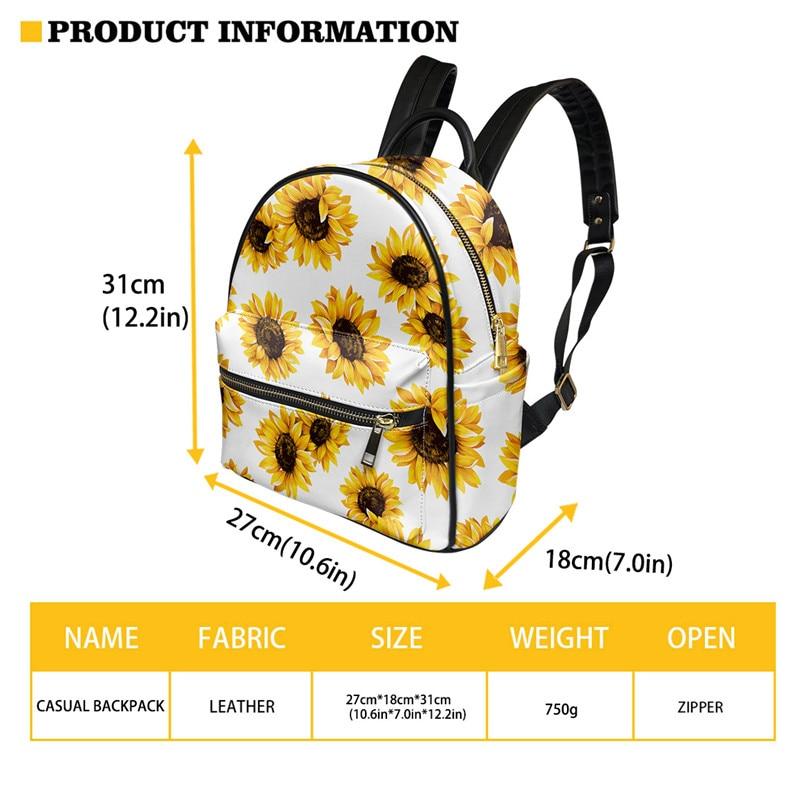 couro do plutônio backbags para meninas arte