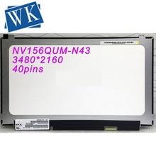 For BOE NV156QUM-N43 NV156QUM N43 IPS Marix for Laptop 15.6