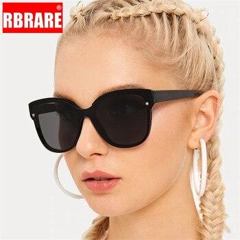 RBRARE Retro Gradient Square Sunglasses Women Luxury Brand Glasses Women/Men Vintage Sunglasses For Women Oculos De Sol Feminino