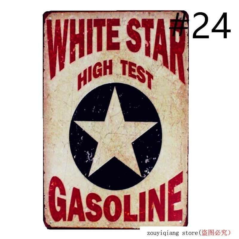 Mein Shop Mein Regeln Metall Poster Tin Zeichen Vintage Bösen Geschwindigkeit Shop Reifen Dienstleistungen Garage Benzin Texaco Wand Kunst Drucken decor
