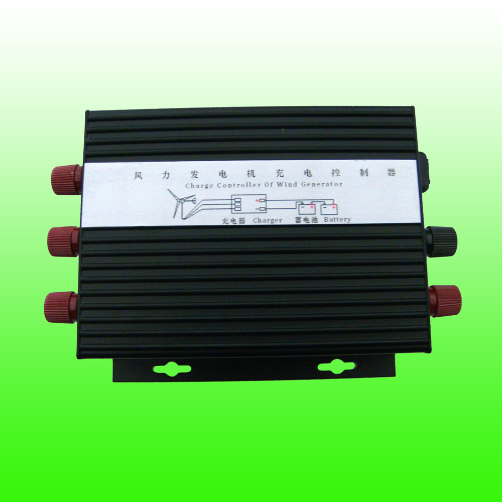 2019 Hot Selling Max 600W Rated 400W 12V 24V Wind Turbine Generator Charge Controller Automatic Heat