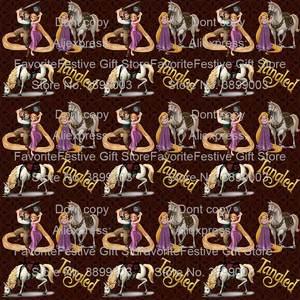 Fabric-Patchwork Frocks Diy Sewing Rapunzel Fancy Halloween Princess Dress Children Birthday-Party