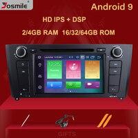 IPS DSP 1 Din Android 9.0 Car Radio DVD For BMW 1 Series e87 E88 E82 E81 I20 GPS Navigation Multimedia stereo 4GB 64G Qcta Core
