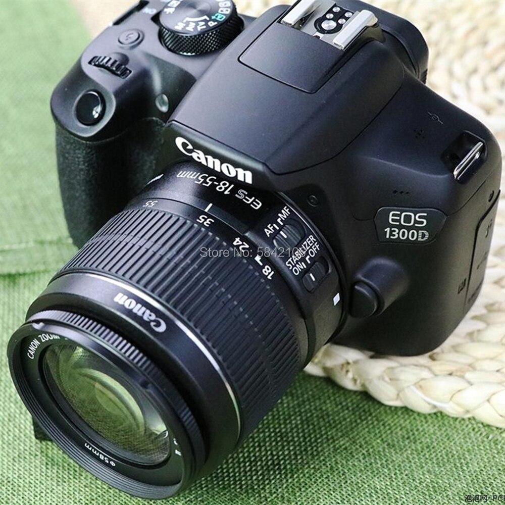 Новинка 95%, бывший в употреблении объектив Canon EF-S 18-55 мм F/3,5-5,6 IS II и DSLR-камера Canon EOS 1300D