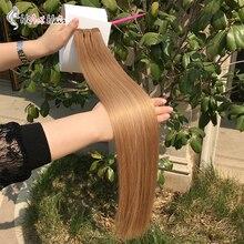 HiArt 100г утка салона нарисованный двойник реального человека Реми волос выметание цвет русских уток волос прямой 18