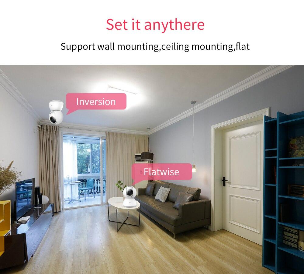 Xiaomi Smart-Camera Webcam Cam Wifi Security-Monitor 1296P Night-Vision Baby 360-Angle