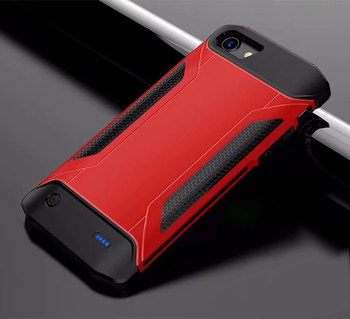 Battery Charger Cases for iPhone 6 6s Ultra Slim shockproof Power Bank Case for iPhone 7 8 Backup Outdoor sports charger Cover