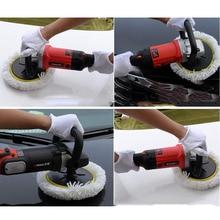 Wool Polishing Disc Soft Wool Clean Polishing for Car Auto Polisher Car accessories high quality Car beauty maintenance tools