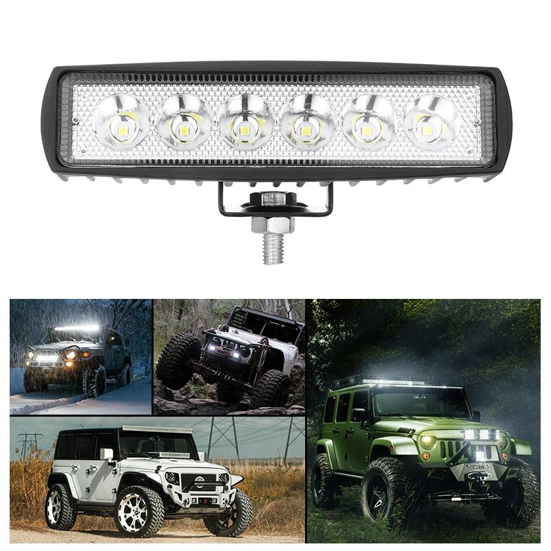 Car Led Work Light DRL LED Spot Flood Worklight 9-32V 4WD 12 Volt Led Work Lights For Off Road Vehicle SUV Car Trucks Led Bar