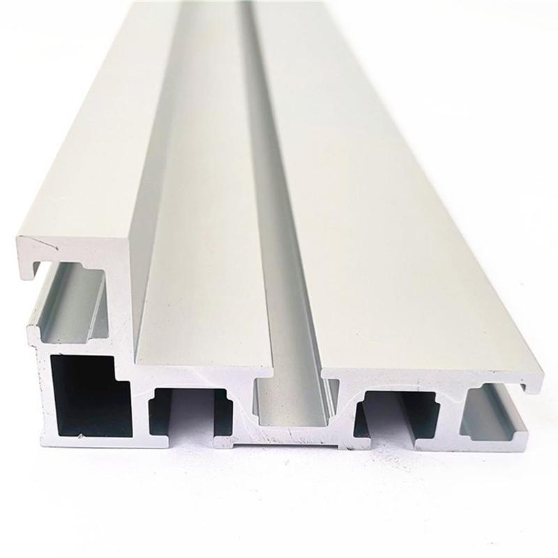 400mm Aluminium Profile 75mm Height Aluminium Alloy Corrosion Resistance Durable With T-tracks Woodworking Workbench DIY Tool