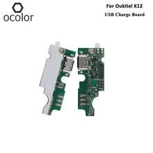 ocolor For Oukitel K12 USB Charge Board Assembly Repair Parts For Oukitel K12 USB Board Mobile Phone Accessories