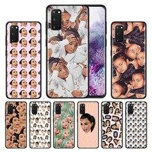 Silicone Case for Samsung Galaxy S20 Ultra 5G S10 S10E S9 S8 S7 S10 S9 S8 Plus S7 Edge Phone Cover Funny Face Kimoji Kim Kardash tv riverdale jughead jones silicone case for samsung galaxy s20 ultra 5g s10 s10e s9 s8 s7 s10 s9 s8 plus s7 edge phone cover