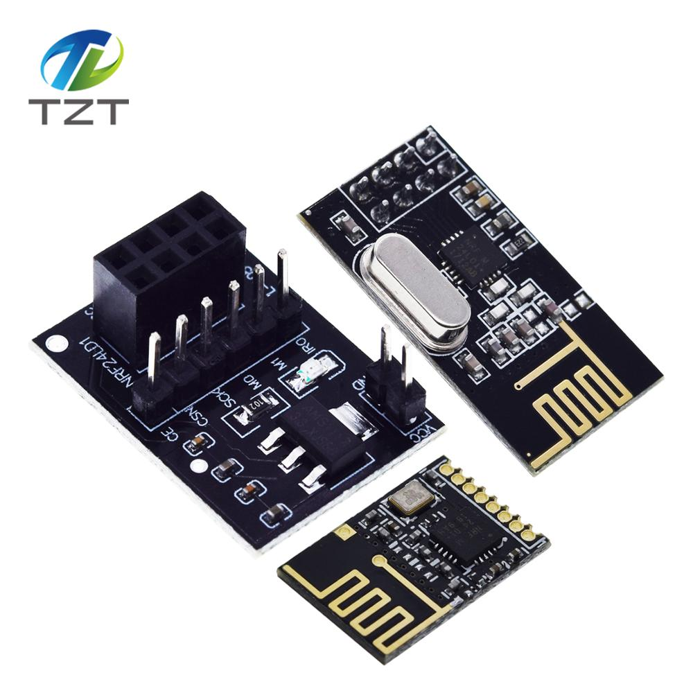 2 x nrf24l01 2.4ghz RF Wireless Ricetrasmettitore modulo per Raspberry Pi Arduino