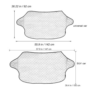 Image 3 - Car Windshield Sunshade Dust Cover Automobiles Rain Ice Snow Protector Anti Heat Front Window Car SUV Cover Parasol Coche