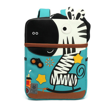 Kindergarten School Bags For Kids 2020 New 3D Cartoon Zebra Model Baby Age 3-6 Children Cute Anti-lost Toddler Backpack - discount item  40% OFF School Bags