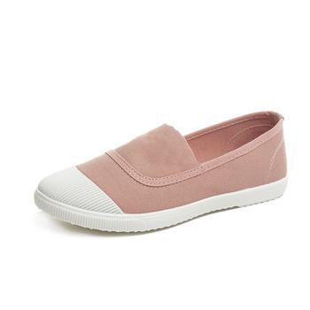 2020 nowa wiosna kobiet buty kobiet trampki kobiet brezentowych butów kobiet wulkanizować buty sznurowane kobiety mieszkania sneakers buty tanie i dobre opinie Dongbula Płótno Płytkie Stałe Wiosna jesień Niska (1 cm-3 cm) Slip-on Pasuje prawda na wymiar weź swój normalny rozmiar