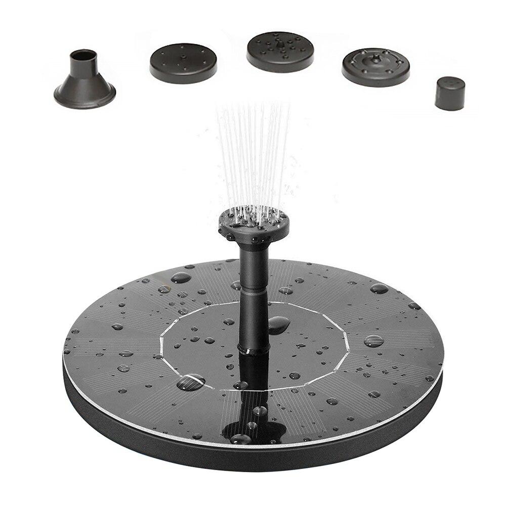 Mini Solar Power fontanna ogród basen staw/oczko wodne zewnętrzny Panel słoneczny oczko wodne pływające do wody fontanna pompa fontannowa wystrój ogrodu