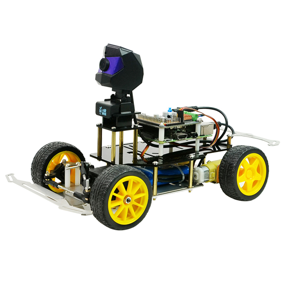 Donkey Car Smart AI Line Follower Robot Opensource DIY Self Driving Platform For Raspberry Pi RC Car Programmable Toys Kids Gift