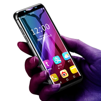 Support Google Play 3.46 small mini mobile phone android 8.1 MTK6739 Quad Core 4G smartphone 2GB RAM 16GB 64GB ROM K Touch i10