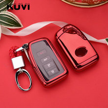 PC+TPU Car Key Cover For Lexus NX GS RX IS ES GX LX RC 200 250 350 LS 450H 300H Case cover keychain keyring