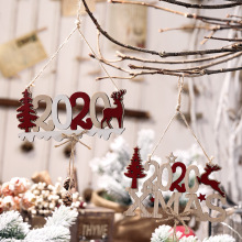 New Years and Christmas Decorations for Home Outdoor Tree Ornaments Door Dropship