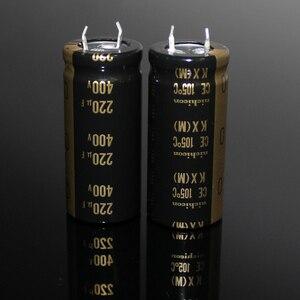 Image 2 - 2PCS NEW NICHICON KX 400V220UF 25X50MM 400v 220uf tube amplifier 220uF 400v high voltage audio electrolytic 220uf/400V