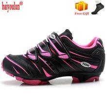 Женская обувь для велоспорта 2020 sapatilha ciclismo mtb дышащая